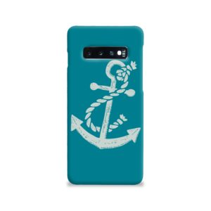 Ship Anchor Sea Vintage Art Samsung Galaxy S10 Case Cover