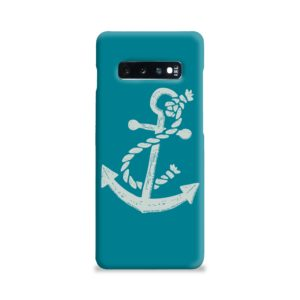 Ship Anchor Sea Vintage Art Samsung Galaxy S10 Plus Case