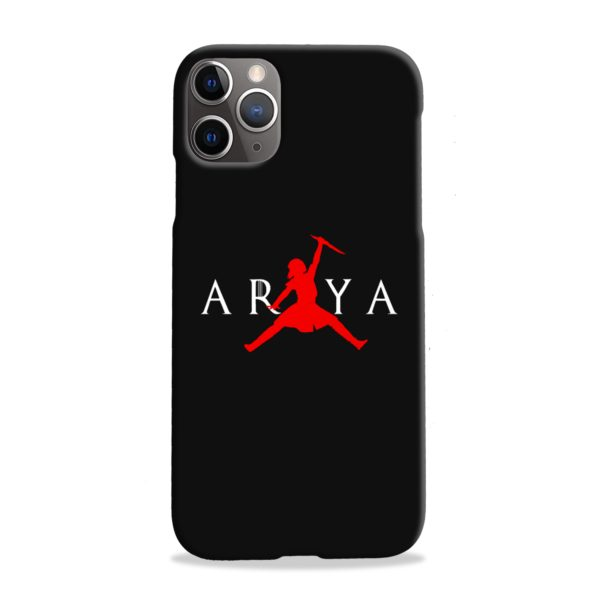 Air Arya Stark Jordan Logo iPhone 11 Pro Max Case