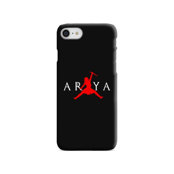Air Arya Stark Jordan Logo iPhone 8 Case