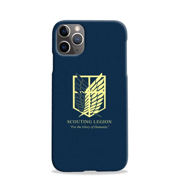 Attack on Titan Scouting Legion iPhone 11 Pro Case
