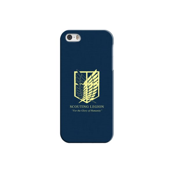 Attack on Titan Scouting Legion iPhone 5 Case