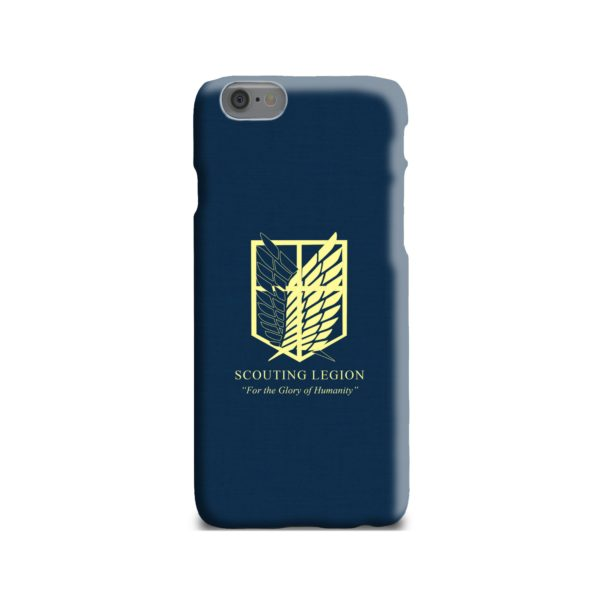 Attack on Titan Scouting Legion iPhone 6 Case
