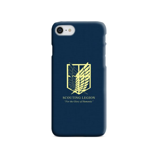 Attack on Titan Scouting Legion iPhone 8 Case
