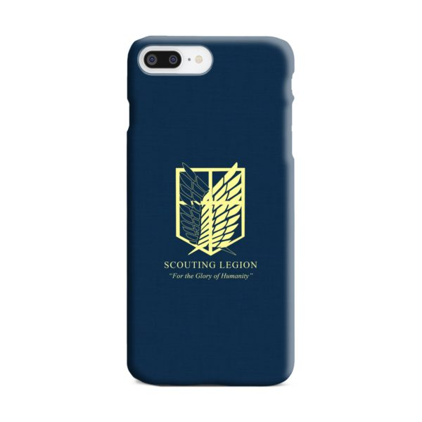 Attack on Titan Scouting Legion iPhone 8 Plus Case