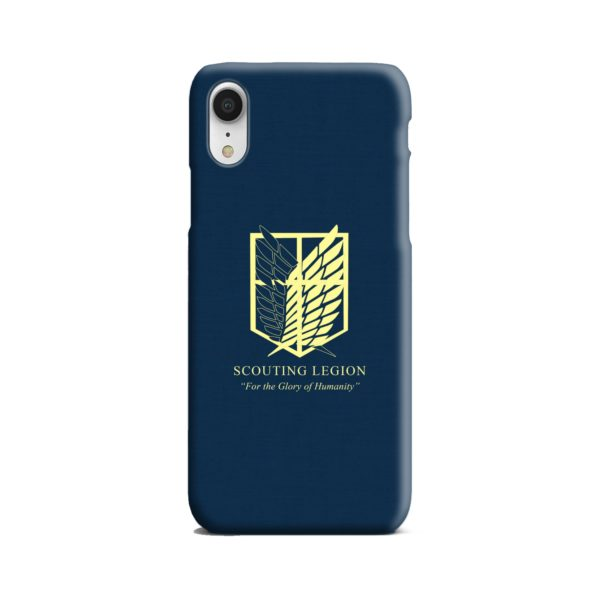 Attack on Titan Scouting Legion iPhone XR Case