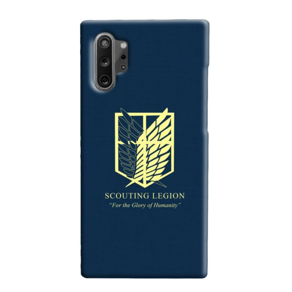 Attack on Titan Scouting Legion Samsung Galaxy Note 10 Plus Case
