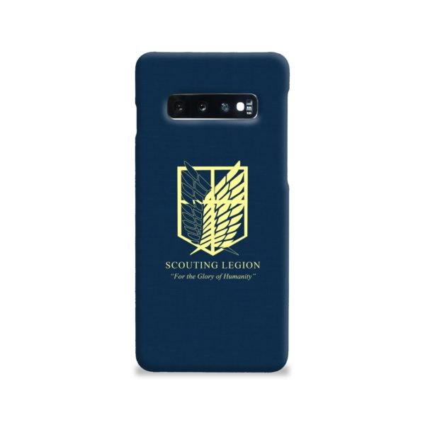 Attack on Titan Scouting Legion Samsung Galaxy S10 Case
