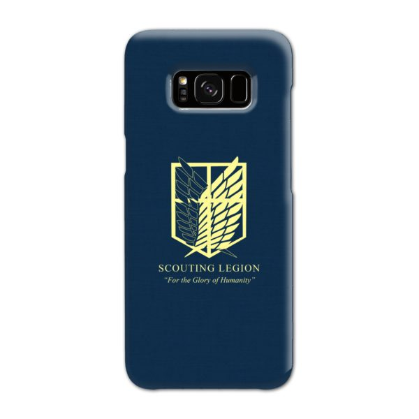 Attack on Titan Scouting Legion Samsung Galaxy S8 Case