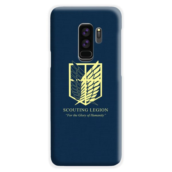 Attack on Titan Scouting Legion Samsung Galaxy S9 Plus Case