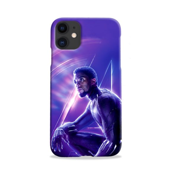 Black Panther Chadwick Boseman Actor iPhone 11 Case