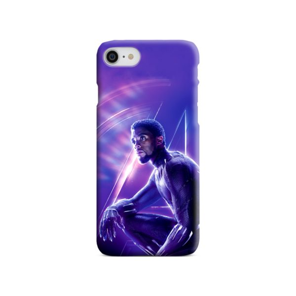 Black Panther Chadwick Boseman Actor iPhone 8 Case