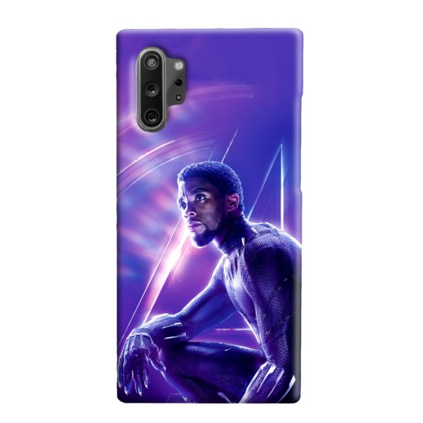 Black Panther Chadwick Boseman Actor Samsung Galaxy Note 10 Plus Case