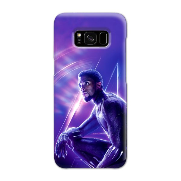 Black Panther Chadwick Boseman Actor Samsung Galaxy S8 Case