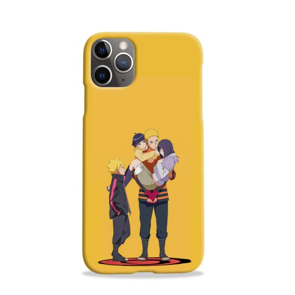 Boruto Uzumaki and Naruto iPhone 11 Pro Case