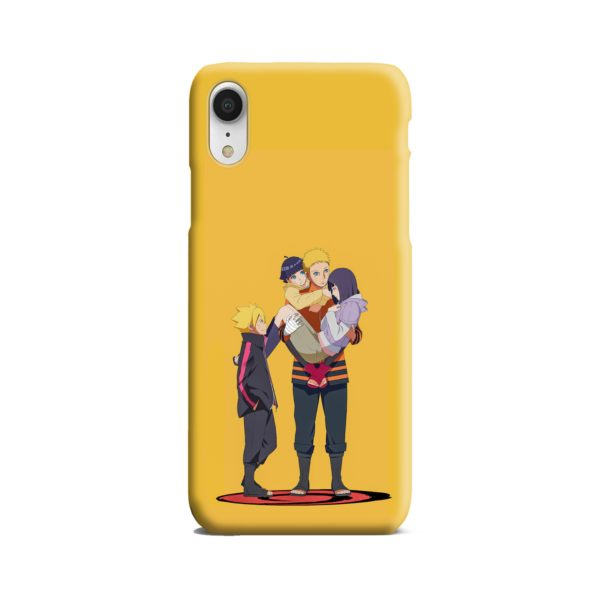 Boruto Uzumaki and Naruto iPhone XR Case