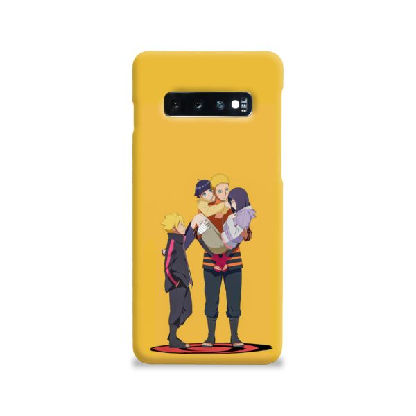 Boruto Uzumaki and Naruto Samsung Galaxy S10 Case