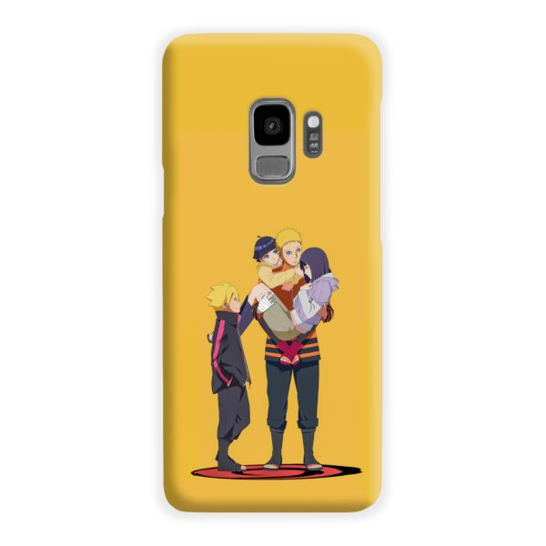 Boruto Uzumaki and Naruto Samsung Galaxy S9 Case