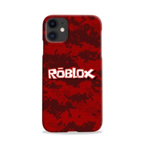 Camo Red Roblox for iPhone 11 Case Cover