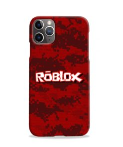 Camo Red Roblox for iPhone 11 Pro Case Cover