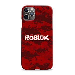 Camo Red Roblox for iPhone 11 Pro Max Case Cover