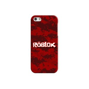 Camo Red Roblox for iPhone 5 Case Cover