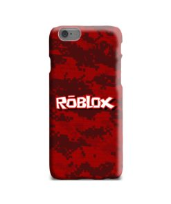Camo Red Roblox for iPhone 6 Case Cover