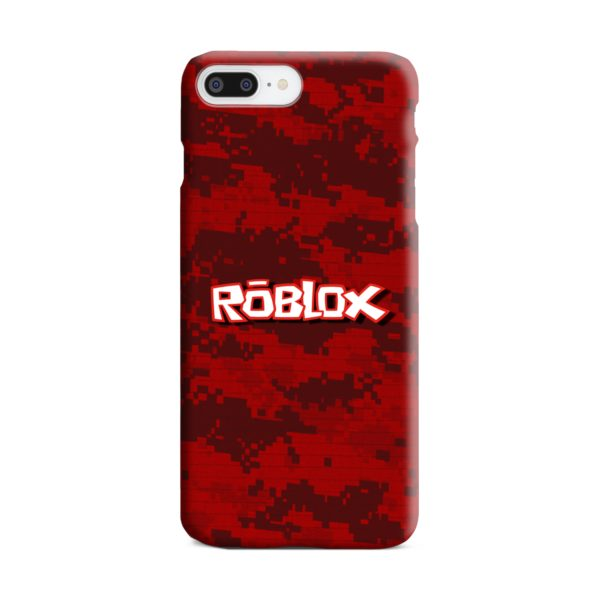 Camo Red Roblox for iPhone 7 Plus Case Cover