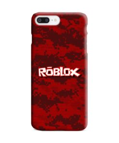 Camo Red Roblox for iPhone 8 Plus Case Cover
