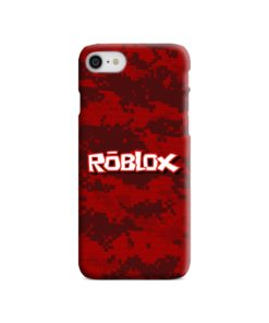 Camo Red Roblox for iPhone SE (2020) Case