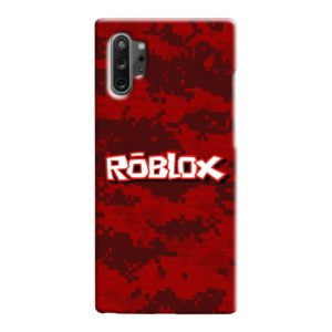 Camo Red Roblox for Samsung Galaxy Note 10 Case Cover