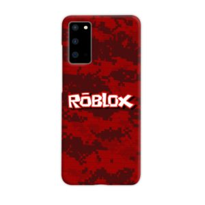Camo Red Roblox for Samsung Galaxy S20 Case