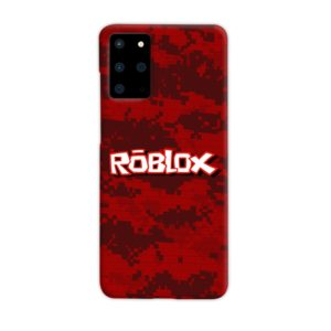 Camo Red Roblox for Samsung Galaxy S20 Plus Case Cover