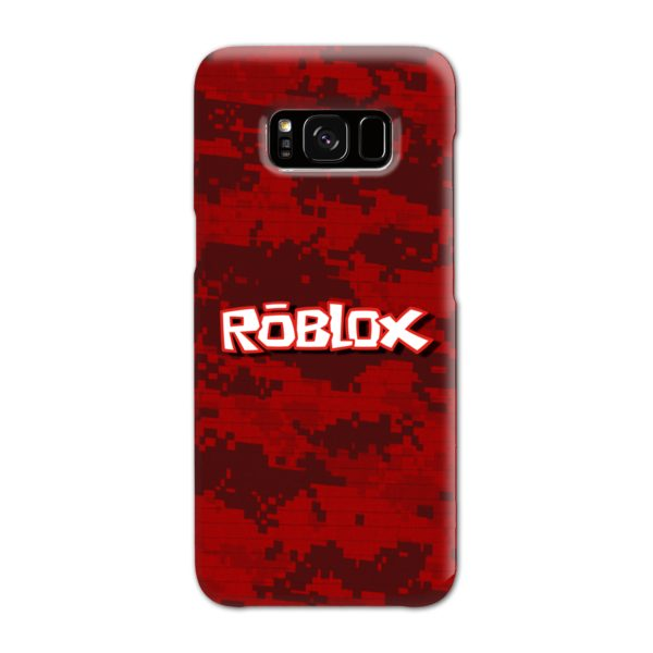 Camo Red Roblox for Samsung Galaxy S8 Case Cover