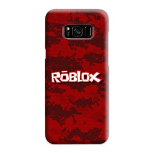 Camo Red Roblox for Samsung Galaxy S8 Plus Case