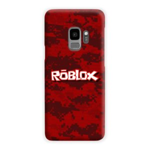 Camo Red Roblox for Samsung Galaxy S9 Case
