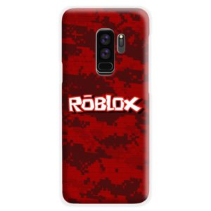 Camo Red Roblox for Samsung Galaxy S9 Plus Case Cover