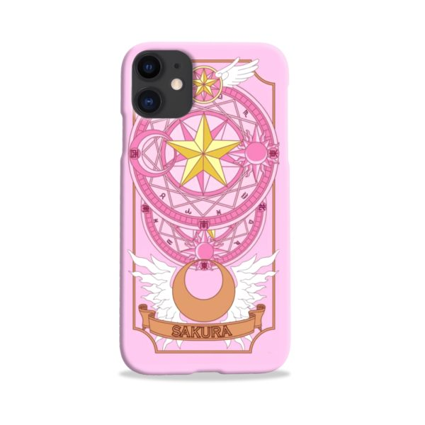 Cardcaptor Sakura iPhone 11 Case