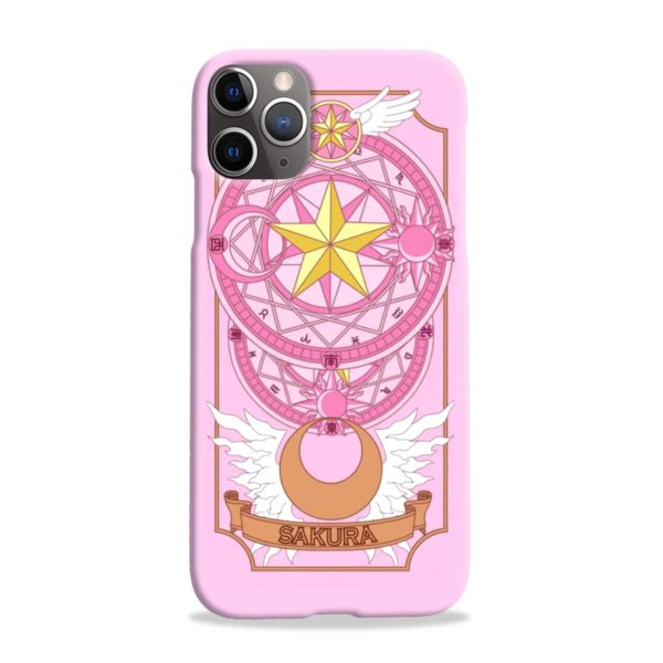 Cardcaptor Sakura iPhone 11 Pro Max Case