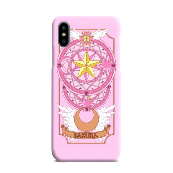 Cardcaptor Sakura iPhone XS Max Case