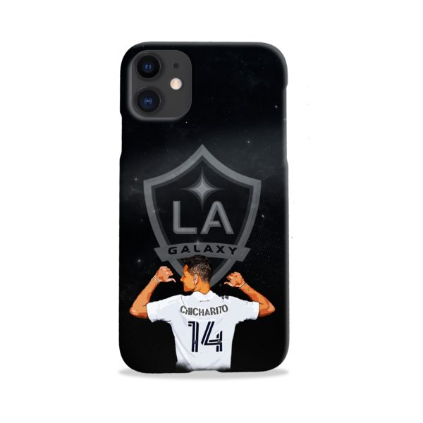 Chicharito Javier Hernandez LA Galaxy iPhone 11 Case