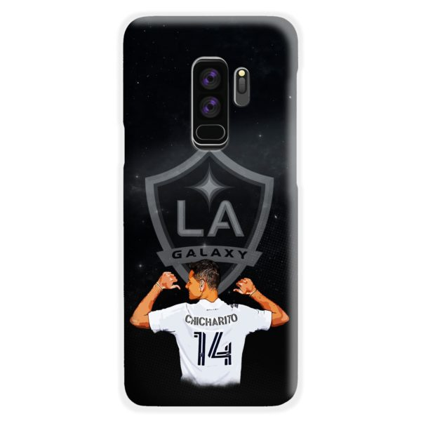 Chicharito Javier Hernandez LA Galaxy Samsung Galaxy S9 Plus Case