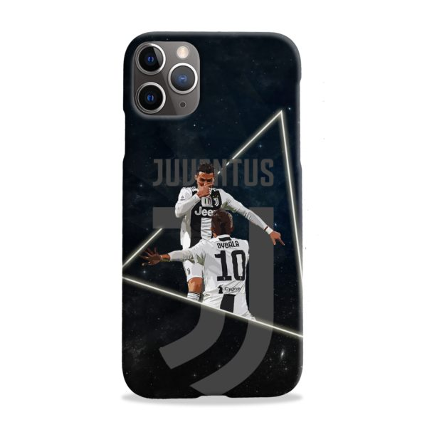 Cristiano Ronaldo and Paulo Dybala Art iPhone 11 Pro Max Case