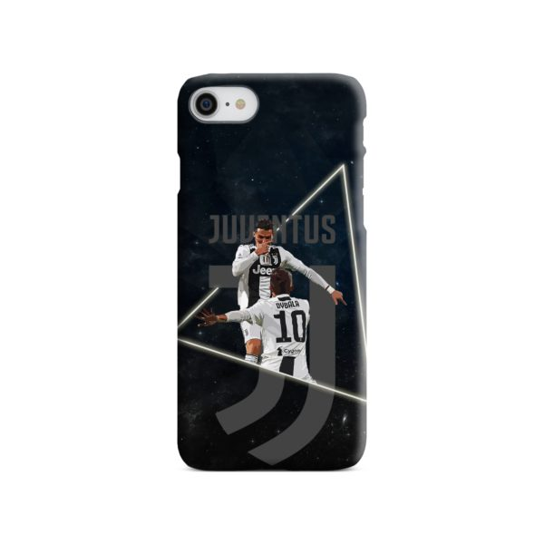 Cristiano Ronaldo and Paulo Dybala Art iPhone 8 Case