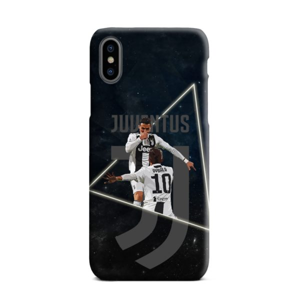 Cristiano Ronaldo and Paulo Dybala Art iPhone XS Max Case