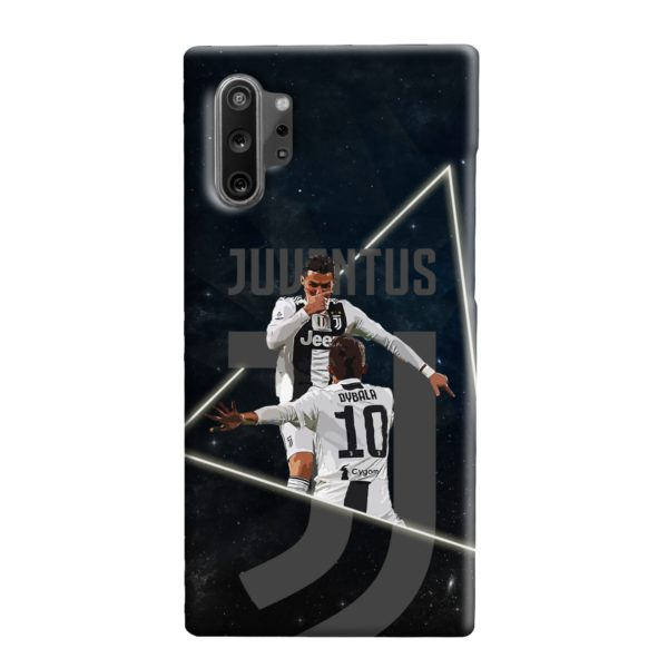 Cristiano Ronaldo and Paulo Dybala Art Samsung Galaxy Note 10 Plus Case