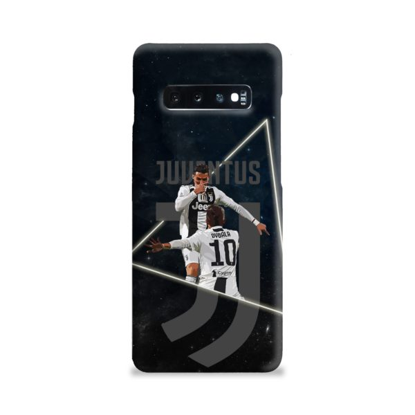 Cristiano Ronaldo and Paulo Dybala Art Samsung Galaxy S10 Plus Case