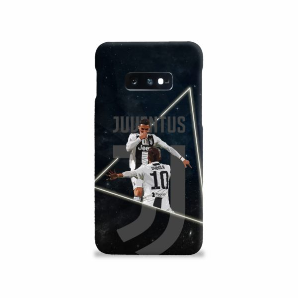 Cristiano Ronaldo and Paulo Dybala Art Samsung Galaxy S10e Case