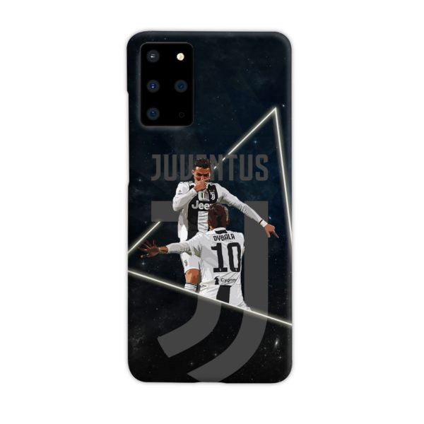 Cristiano Ronaldo and Paulo Dybala Art Samsung Galaxy S20 Plus Case