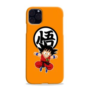 Dragon Ball Kid Goku iPhone 11 Max Case